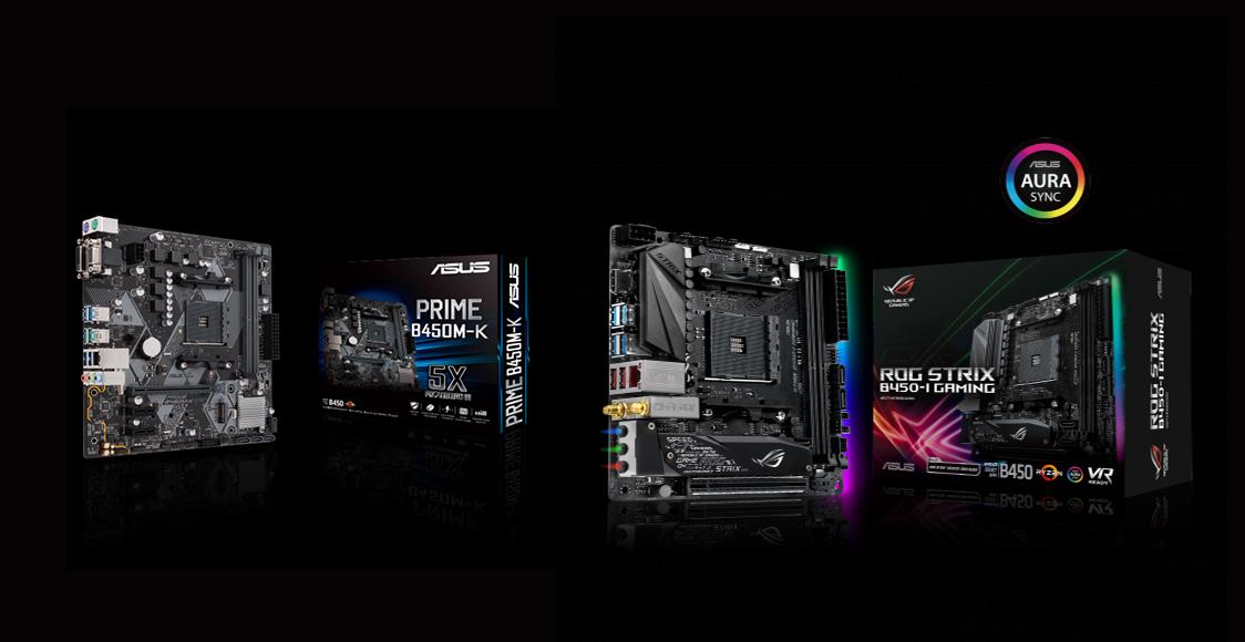 ASUS AMD B450