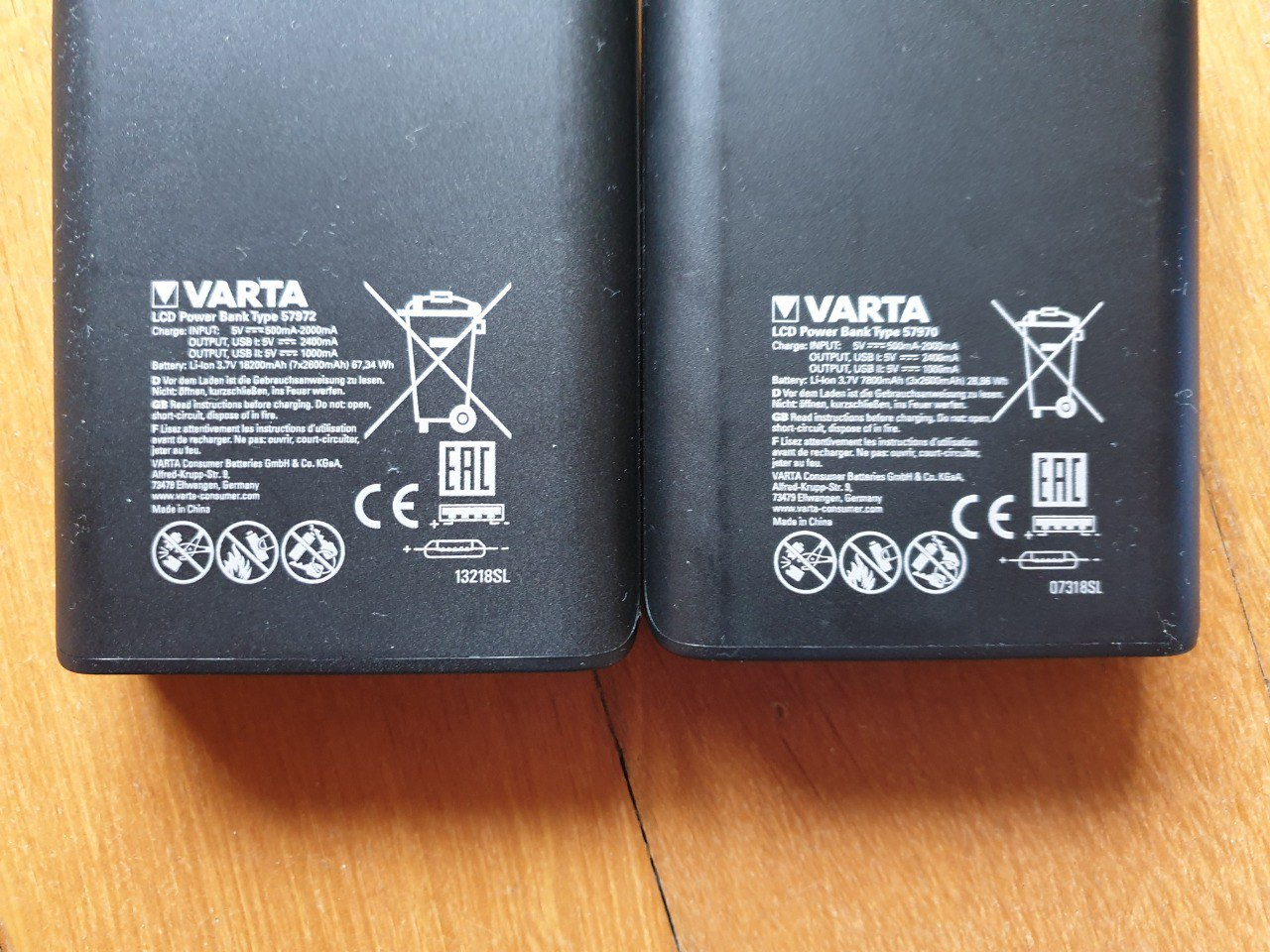 PowerBank LCD Varta